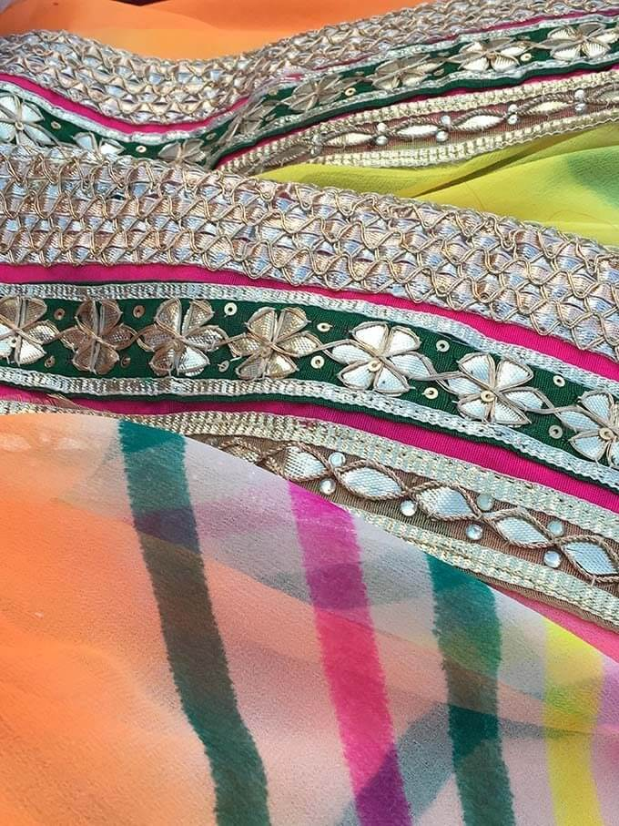 Falling in love with the fabrics of the region