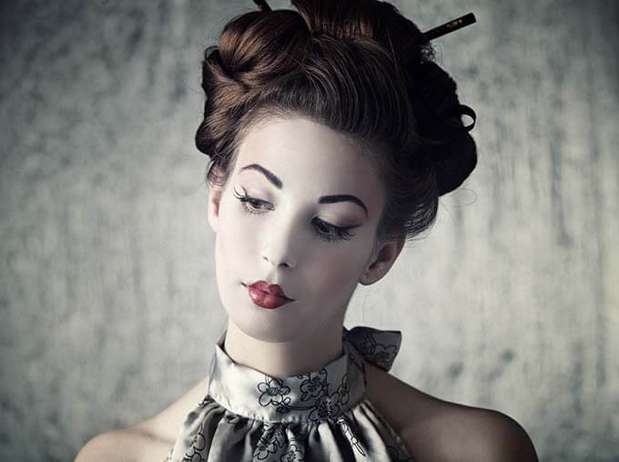 Geisha beauty secrets