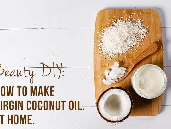 Beauty recipe: How to make virgin coconut oil at home (effort level: easy)