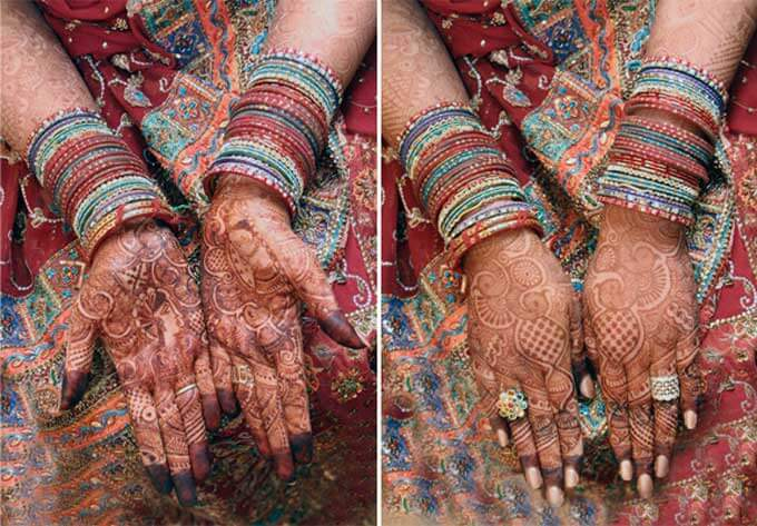 My wedding mehndi