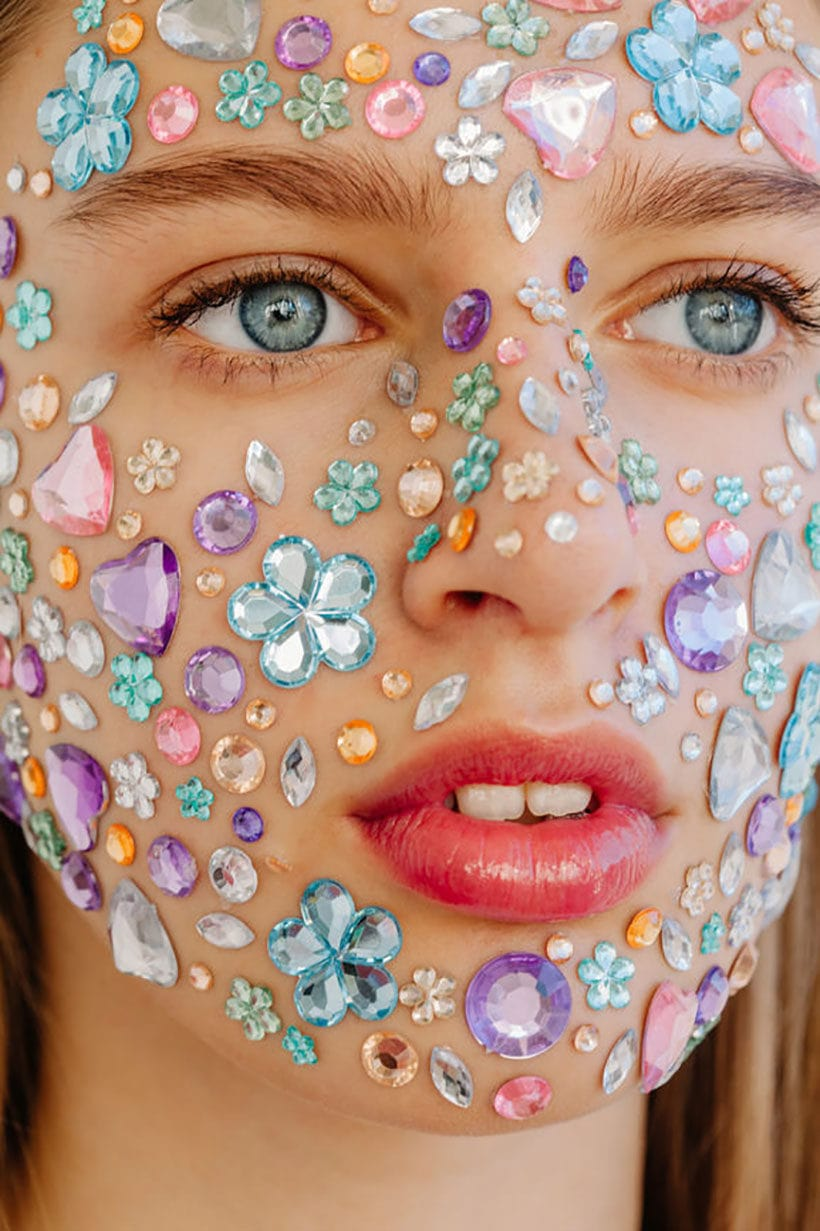 crystals and skincare