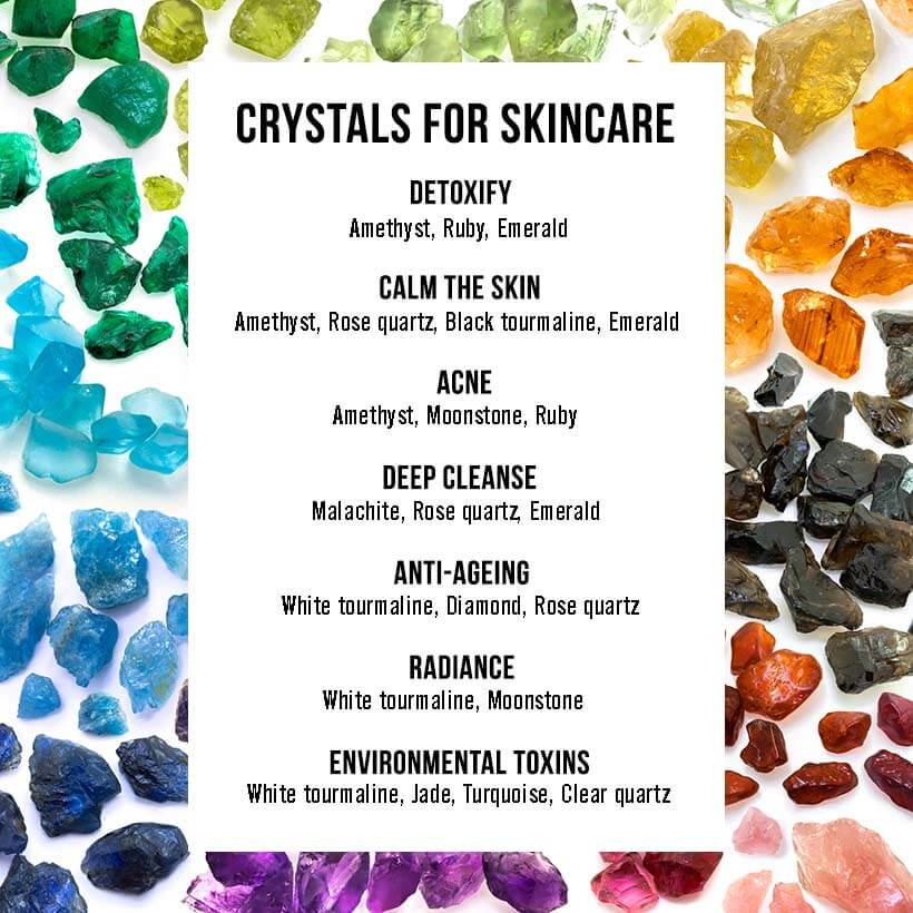Crystals for skincare: The ULTIMATE guide to picking out the one for your specific needs