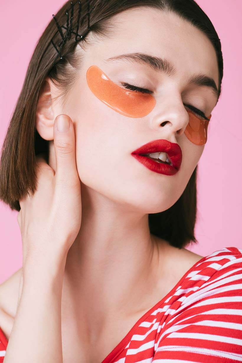 Beauty Recipes Make Your Own Under Eye Mask Time 10 Minutes