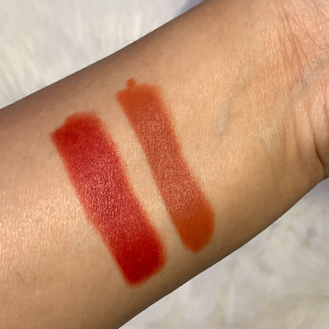 live tinted huesticks swatches