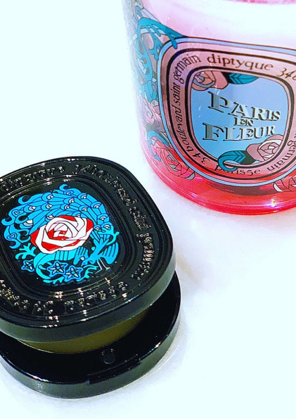 The Beauty Gypsy Review: Diptyque Paris en Fleur Candle & Solid Perfume