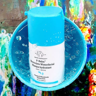 The Beauty Gypsy Review: Drunk Elephant F-Balm Electrolyte Waterfacial Mask