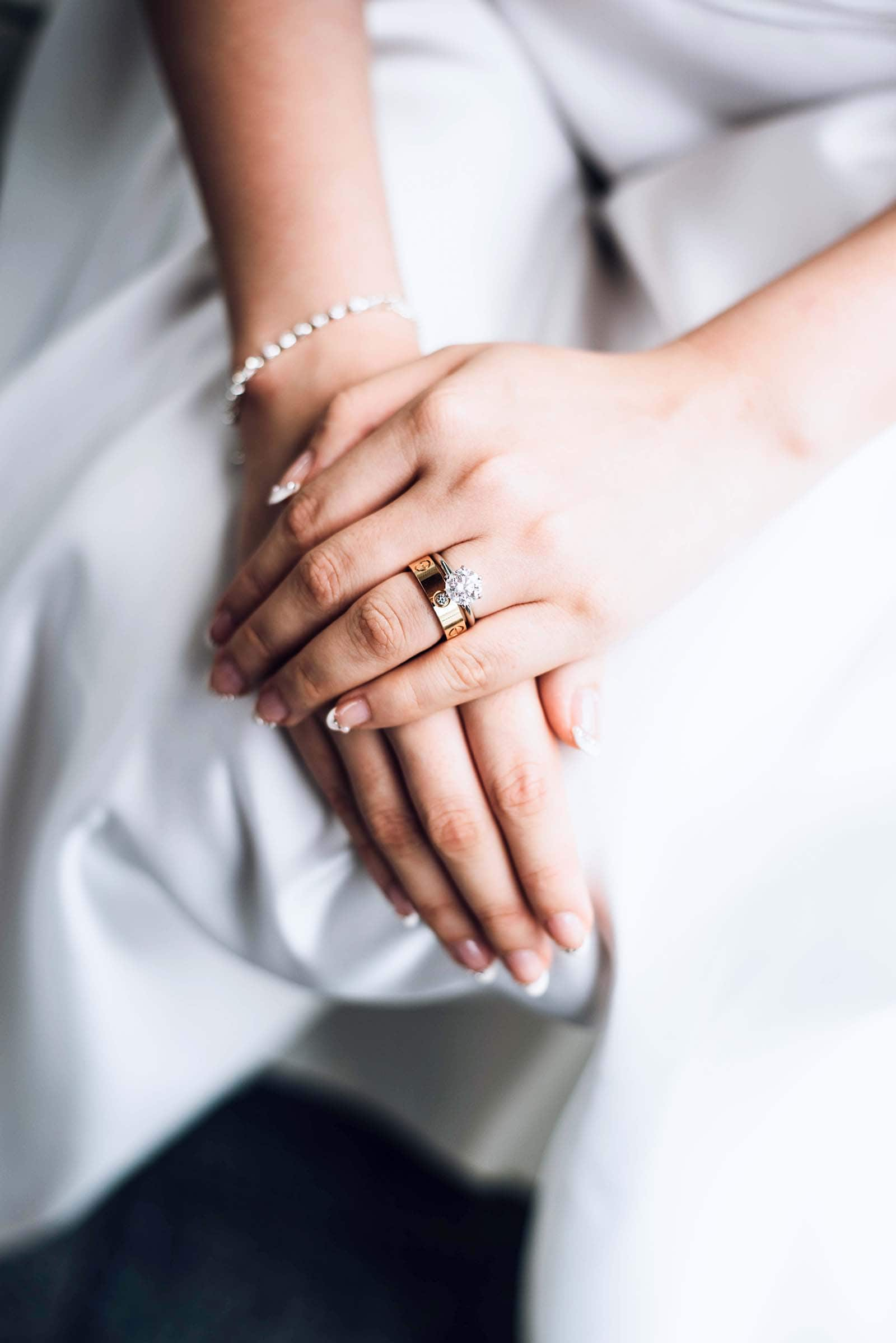 bridal manicure